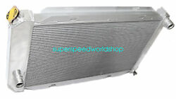 Aluminum Racing 3 Row Radiator Fits For 71-73 Ford Mustang V8 Mt Only