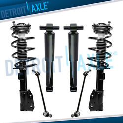 Struts Shocks Chevy Traverse Buick Enclave Gmc Acadia + Sway Bars Front And Rear