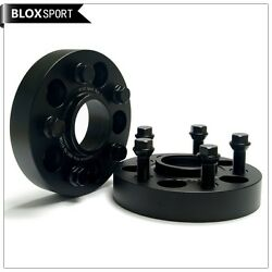 2x 35mm Wheel Spacer 5x120 74.1cb Forged Aluminum For Bmw E39 5 Series M12x1.5
