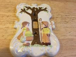 HOLLAND MOLD SINGLE LIGHT SWITCH PLATE COVER PLATE -KIDS