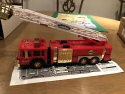 1995 Sunoco Series 2 Fire Truck Gold Serial Numbered Marcus Hook Limited