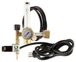 Titan Controls CO2 Regulator - Hydroponics Grow Room Greenhouse Gauge