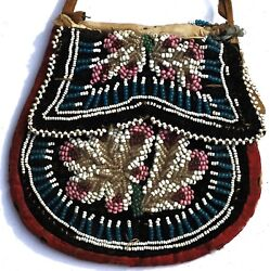 Vintage Native American Beaded Purse / Pouch