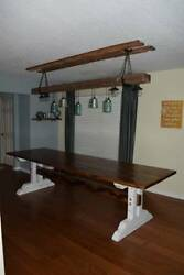 Dining Room Table Rustic Furniture French Country Farmhouse Handmade