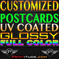 Personalized 15000 Flyer Eddm 8.5 X 11 Full Color 2 Sided 14pt Gloss Postcards