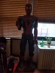 Spiderman 6and039 Statute Stan Leetobey Maguire Comicon Marvel Comics Solid Wood
