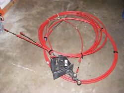 1993- 29and039 Baja Motoryacht Steering And Throttle Rigging Cables And Controls
