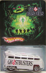 Hot Wheels Custom Volkswagen Drag Bus Ghostbusters Real Riders Limited 1/5 Made