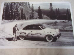 1952 Studebaker Hardtop Pikes Peak Hill Climb Pace Car 11 X 17 Photo Picture
