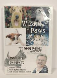 A Wizard of Paws Dog Grooming Training DVD TERRIERS Greg Kellas NEW