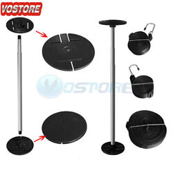 Telescopic Boat Cover Support Pole With Adjustable Webbing Straps