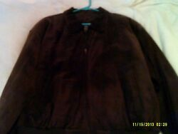 David Taylor Leather Jacket Xl With Tags