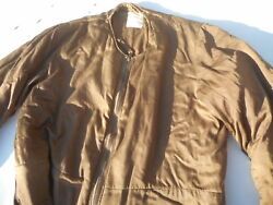 Ww2 Royal Canadian Air Force Brown Rcaf Flight Suit Liner Size 4 36/38