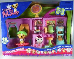 Littlest Pet Shop Doggie Diner JACK RUSSEL TERRIER lot #40 MOUSE #41 RARE!! NIB!