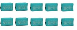 10 x Victoria's Secret TEAL NYLON BLING COSMETIC BAG PURSE - NEW WITH TAG