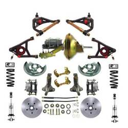 1964-1972 Chevelle Disc Brake Kit 11 Power Booster Control Arms And Coil Overs