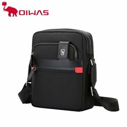 Oiwas Men Male Nylon Shoulder Bag Casual Waterproof Business Messenger Bag LN