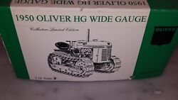 Stephen Adams Manufacturing Oliver Hg Wide Gauge Tractor 1/16 Scale Mint