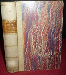 1864 1sted Italian Bible Concordance And Analytical Chronology. Vellum