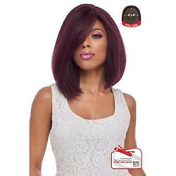 4x4 Multi Part Lace Wig Swiss Silk Base Lace Natural Short Straight Fls08