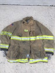 Firefighter Globe Turnout Bunker Coat 50x35 G-xtreme No Cut Out 2010
