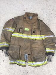 Firefighter Globe Turnout Bunker Coat 43x35 G-xtreme No Cut Out 2011