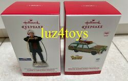 2013 Hallmark Clarks Christmas Miracle And Wagon Queen Family Truckster Ornaments