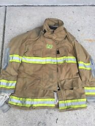 Firefighter Globe Turnout Bunker Coat 52x35 G-xtreme No Cut Out 2008