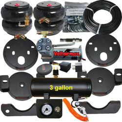 B Chassistech Tow Kit Chevy Gmc 1500 99-06 Compressor / Manual Valve Inflator