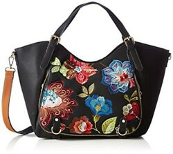 Desigual 2017 Embroidery Women's shoulder baghand bag brand new with tag