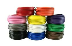 14 Gauge Wire 12 Volt Single Conductor Stranded Remote 11 Rolls 25 Feet Each