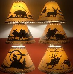 Rustic Lamp Shades  Listed By Base Diameter Scroll Down For Sizing Options
