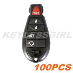 Wholesale 100Pcs New Uncut Replacement Fobik Key Entry Fob Keyless Remote For 5b