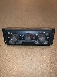01 - 04 CHEVY VENTURE MONTANA AC HEATER CLIMATE CONTROL OEM PN 10301047