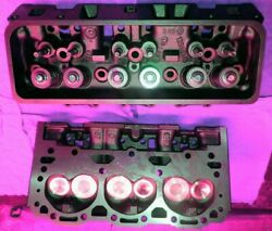 2 Gm Chevy 4.3 V6 262 Cylinder Heads Cast140 And 772 Only Vortec 96-01 No Core
