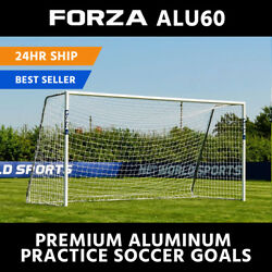 FORZA Alu60 Soccer Goals - Portable Aluminum Soccer Goal - Range of Sizes