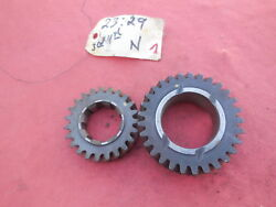 Porsche 911 901 Transmission Gear Set 3rd And 4th Speed N 2329 Matching  1