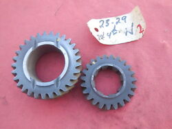 Porsche 911 901 Transmission Gear Set 3rd And 4th Speed N 2329 Matching 2