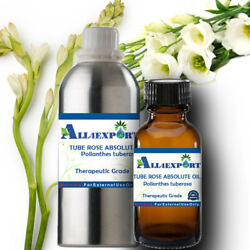 Pure Tube Rose Absolute Polianthes Tuberosa Natural Herbal Ayurveda Fragrance