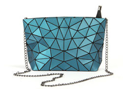 Fashion Geometry Design leather chain bag for women with High Quality PU