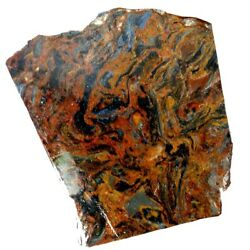 Sunday Special Natural Chatoyant Pietersite Rough Slab /petersite Raw Material