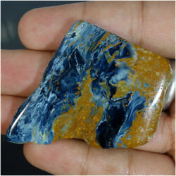 Monday Special Natural Chatoyant Pietersite Rough Slab Raw Material Cabochon