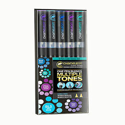 Chameleon 5 Pen Cool Tones Set CT0504 Color Tones Markers