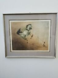 Kaiko Moti The Steed Hand Signed Artwork Original Color Etching Make An Offer