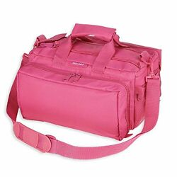 Bulldog Cases Deluxe Range Bag with Strap Pink