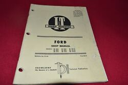 Ford 8000 8600 8700 9000 9600 9700 Tw-10 Tw-20 Tw30 Tractor Iandt Shop Manual Smpa