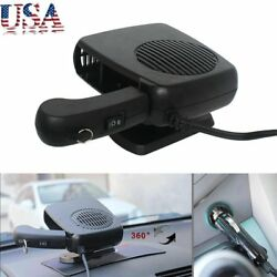12V Car Auto Vehicle Portable Ceramic Heater Heating & Cooling Fan Defroster&