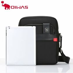 Oiwas Men Male Nylon Shoulder Bag Casual Waterproof Business Messenger Bag PN