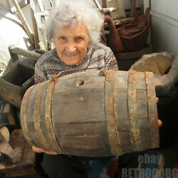 Old Antique Primitive Wooden Mortar And Pestle Ornate Hand Painted .... /1q/