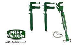 3 Point Hitch Top Link And Adjustable Uprights - John Deere 620 630 Tractor